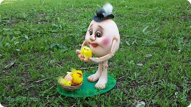 Здравствуйте все, кто заглянул в гости!  Захотелось сделать к Пасхе яйцо в чулочной технике. фото 4