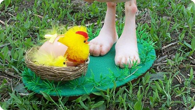 Здравствуйте все, кто заглянул в гости!  Захотелось сделать к Пасхе яйцо в чулочной технике. фото 12