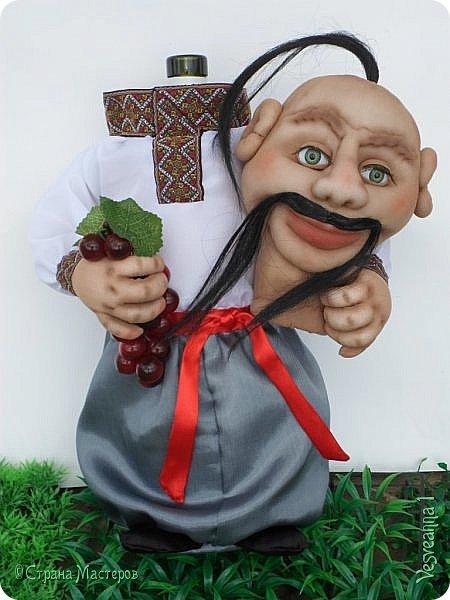 Доброго времени суток всем! Сшила куколку по мастер-классу Светланы Лазаревой. Первый раз попробовала сделать стеклянные глазки с ресницами. фото 9