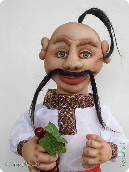 Доброго времени суток всем! Сшила куколку по мастер-классу Светланы Лазаревой. Первый раз попробовала сделать стеклянные глазки с ресницами. фото 1