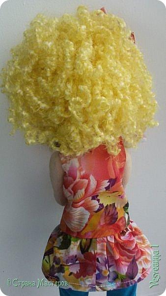 Здравствуйте все, кто заглянул в гости! Учусь шить куколок из ткани. Эта кукла Алиса сшита по мастер-классу Ирины Чурилиной в школе Панпина. Очень мне понравилось заниматься под руководством мастера. И вот такой получился результат. фото 8