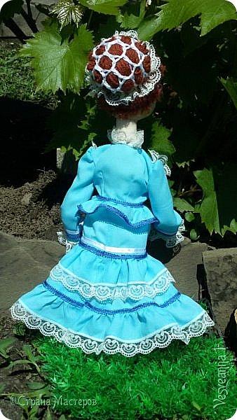 Доброго времени суток всем! Попросили сшить куколку для детского сада. Живем мы на берегах Дона, дети с детства изучают казачью культуру, казачьи песни, танцы, костюмы. Получилась вот такая куколка в казачьем костюме. фото 6
