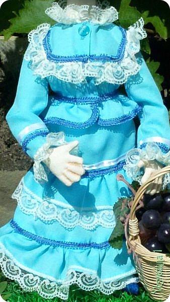 Доброго времени суток всем! Попросили сшить куколку для детского сада. Живем мы на берегах Дона, дети с детства изучают казачью культуру, казачьи песни, танцы, костюмы. Получилась вот такая куколка в казачьем костюме. фото 4