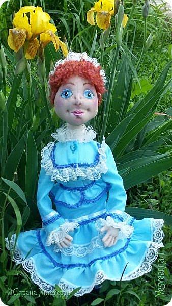 Доброго времени суток всем! Попросили сшить куколку для детского сада. Живем мы на берегах Дона, дети с детства изучают казачью культуру, казачьи песни, танцы, костюмы. Получилась вот такая куколка в казачьем костюме. фото 11