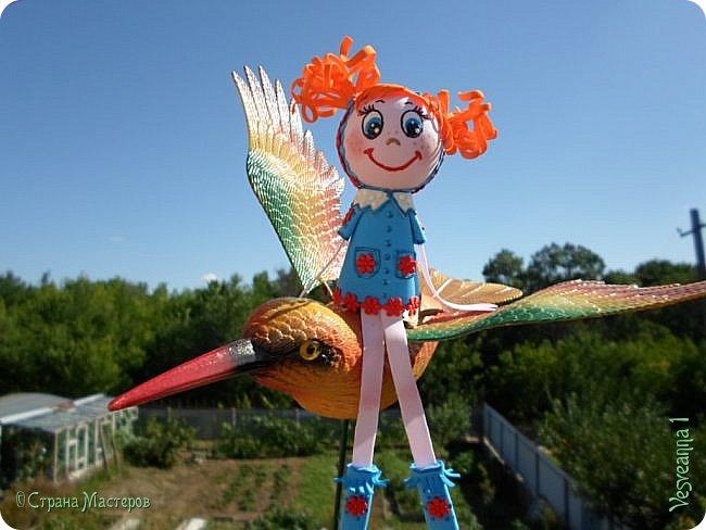 Здравствуйте! Вот уже и лето на носу, на улице тепло, можно выйти погулять, на птичке полетать! фото 2