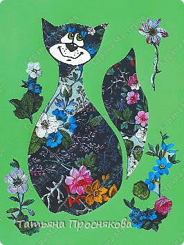 Шесть портретов кошек