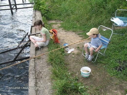 Это мы с Федей на рыбалке фото 1