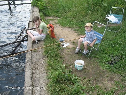 Это мы с Федей на рыбалке фото 2