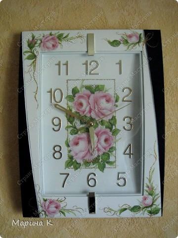 "Мои часы ""расцвели"" фото 1"