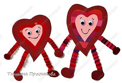 Аппликация: Аппликации с сердечками