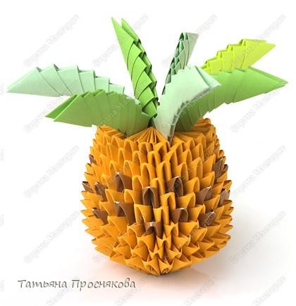 Выполнение мини-ананаса