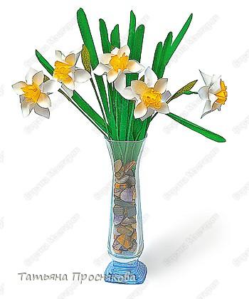 Бумагопластика: Цветок водяного бога