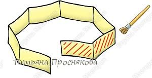 Бумагопластика: Пчёлки на сотах фото 4