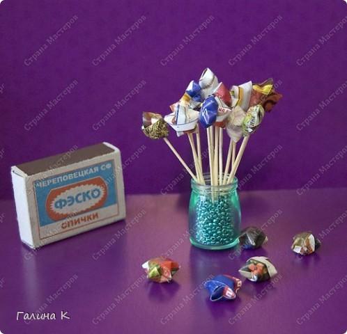 Оригами Звёздочка счастья