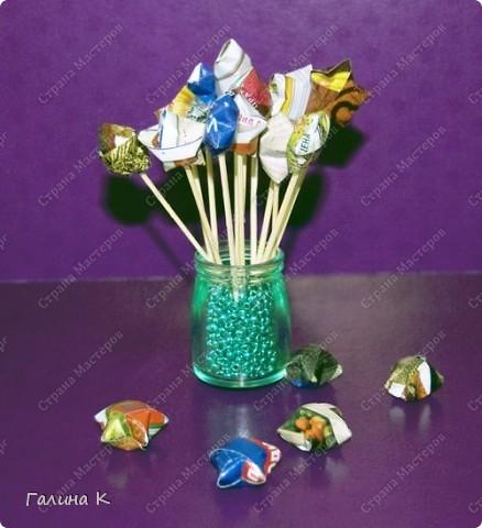 Звёздочка счастья в технике оригами фото 1