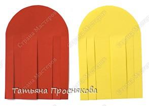 Для того, чтобы сделать каждый плетёный листочек, подбери бумагу двух контрастных цветов (лучше двухстороннюю). фото 3