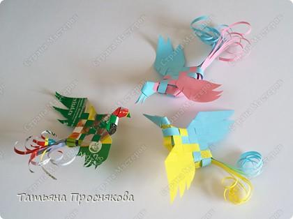 Плетение: Плетёные птички фото 1