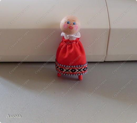 Сегодня я показываю, как сделать маленькую куколку. По этому МК я делала Лесную Феечку. фото 28
