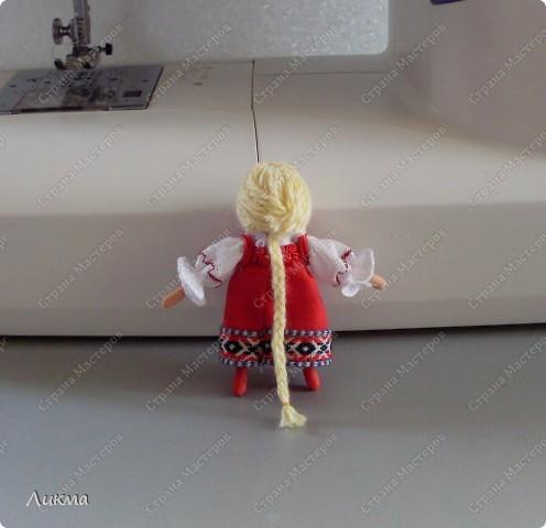 Сегодня я показываю, как сделать маленькую куколку. По этому МК я делала Лесную Феечку. фото 33