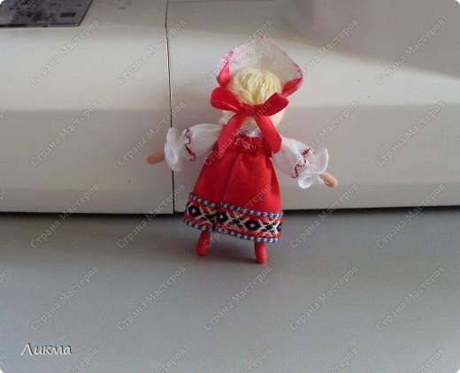 Сегодня я показываю, как сделать маленькую куколку. По этому МК я делала Лесную Феечку. фото 36