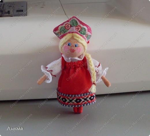 Сегодня я показываю, как сделать маленькую куколку. По этому МК я делала Лесную Феечку. фото 1
