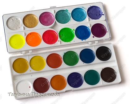 В последнее время появилось много разновидностей красок. Мне захотелось их опробовать и протестировать. Вот то, что мне очень понравилось.  Цветная тушь (Чехия). Очень понравились цвета. Никогда раньше не видела коричневую тушь. Хороша для рисования и для разных необычных техник, например, раздувания клякс. фото 3