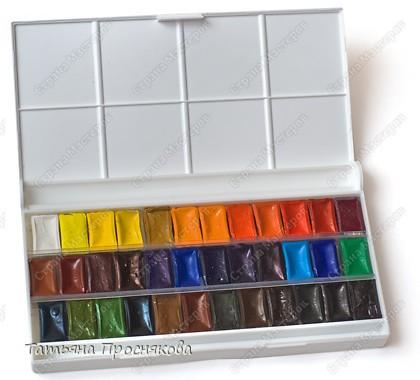 В последнее время появилось много разновидностей красок. Мне захотелось их опробовать и протестировать. Вот то, что мне очень понравилось.  Цветная тушь (Чехия). Очень понравились цвета. Никогда раньше не видела коричневую тушь. Хороша для рисования и для разных необычных техник, например, раздувания клякс. фото 7
