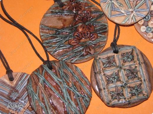 украшение из глины фото 2