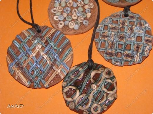 украшение из глины фото 4