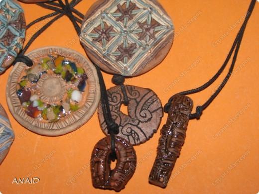 украшение из глины фото 5