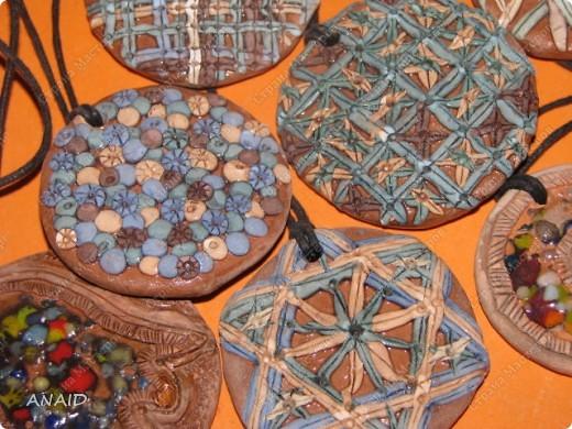 украшение из глины фото 6