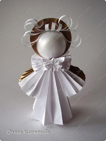 Оригами модульное Ангел из