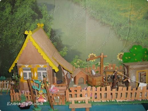 Макет деревни своими руками