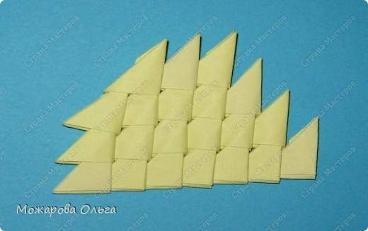 Мастер-класс Поделки для мальчиков Оригами китайское модульное МК самолёт Бумага фото 20