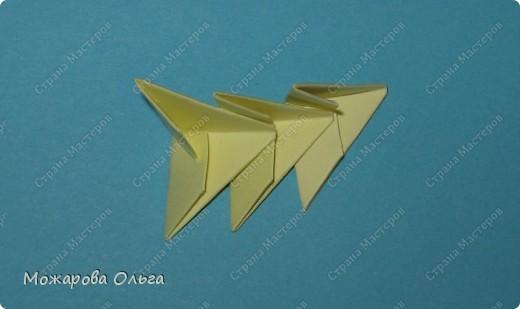 Мастер-класс Поделки для мальчиков Оригами китайское модульное МК самолёт Бумага фото 13