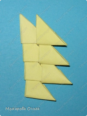 Мастер-класс Поделки для мальчиков Оригами китайское модульное МК самолёт Бумага фото 17