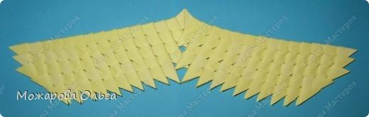 Мастер-класс Поделки для мальчиков Оригами китайское модульное МК самолёт Бумага фото 22