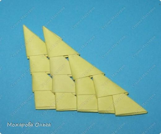 Мастер-класс Поделки для мальчиков Оригами китайское модульное МК самолёт Бумага фото 18