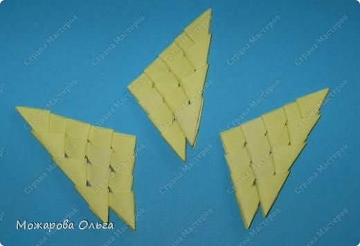Мастер-класс Поделки для мальчиков Оригами китайское модульное МК самолёт Бумага фото 19