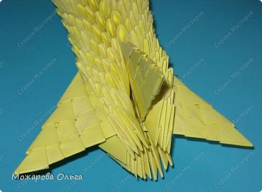 Мастер-класс Поделки для мальчиков Оригами китайское модульное МК самолёт Бумага фото 25