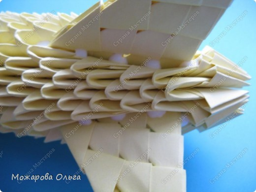 Мастер-класс Поделки для мальчиков Оригами китайское модульное МК самолёт Бумага фото 27