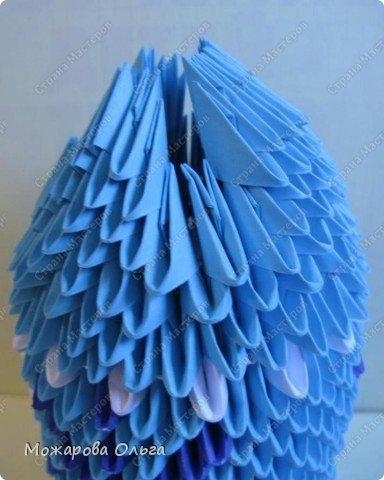 Мастер-класс Новый год Оригами китайское модульное МК Дедушка Мороз Бумага фото 17