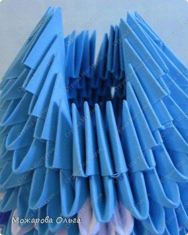Мастер-класс Новый год Оригами китайское модульное МК Дедушка Мороз Бумага фото 18
