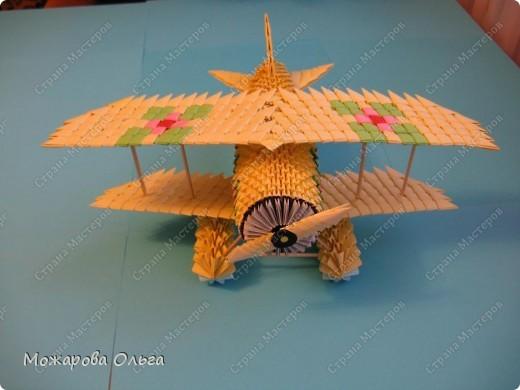 Мастер-класс Поделки для мальчиков Оригами китайское модульное МК самолёт Бумага фото 38