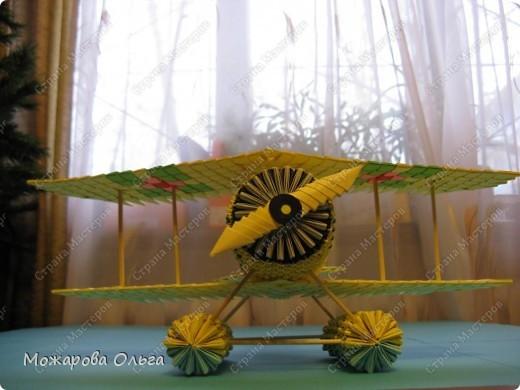 Мастер-класс Поделки для мальчиков Оригами китайское модульное МК самолёт Бумага фото 40