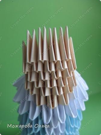 Мастер-класс Новый год Оригами китайское модульное МК Снегурочка Бумага фото 16