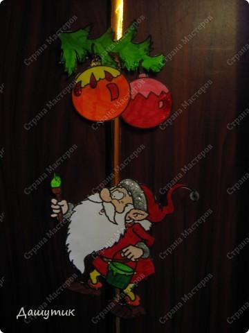 Предлагаю вам сделать вот такую новогоднюю гирлянду.  фото 4