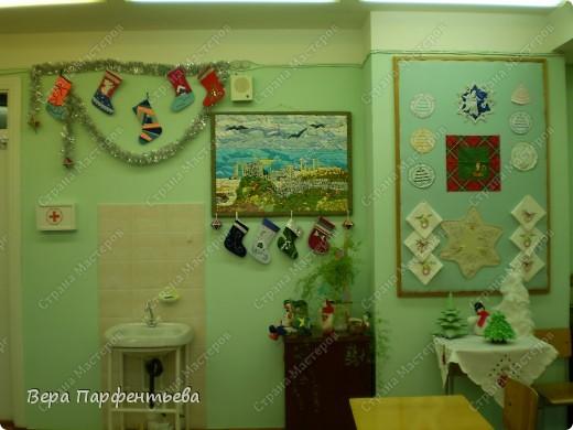 Новогодние украшения для кабинета фото