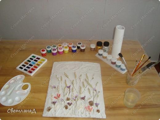 Картина панно рисунок Мастер-класс Ассамбляж Мастер-класс техника терра Материал природный фото 6