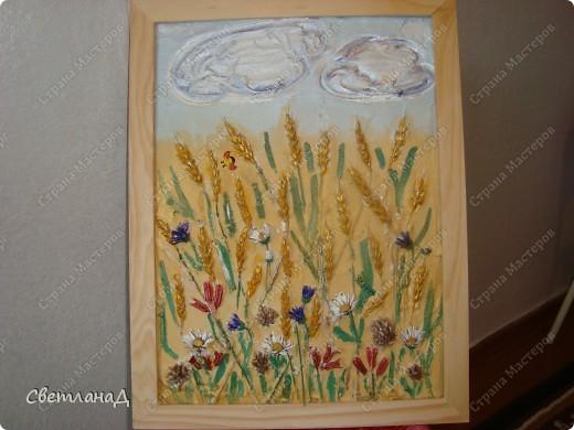 Картина панно рисунок Мастер-класс Ассамбляж Мастер-класс техника терра Материал природный фото 1
